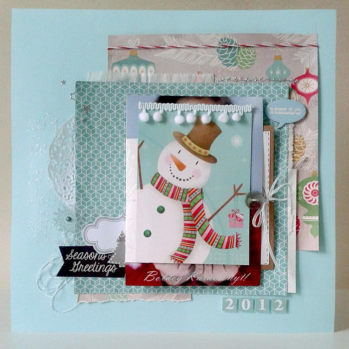 Karácsonyi üdvözlőlapjaink 2012 | Budaházi Brigitta