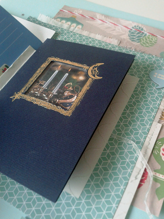 Karácsonyi üdvözlőlapok 2012 | Budaházi Brigitta