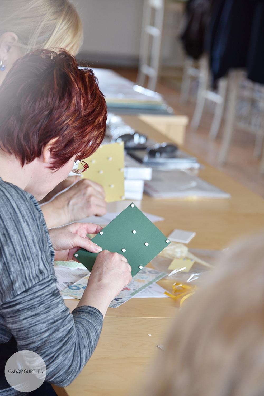 Tavaszi scrapbook workshop Szlovákiában