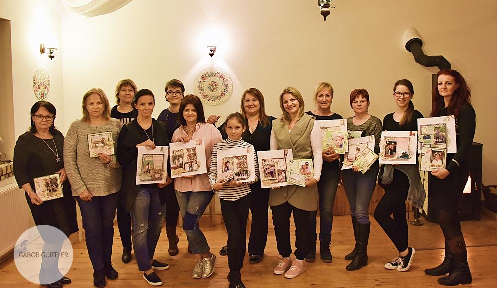 Tavaszi scrapbook workshop Szlovákiában.