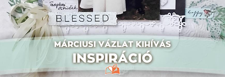 Márciusi vázlat kihívás – Inspiráció
