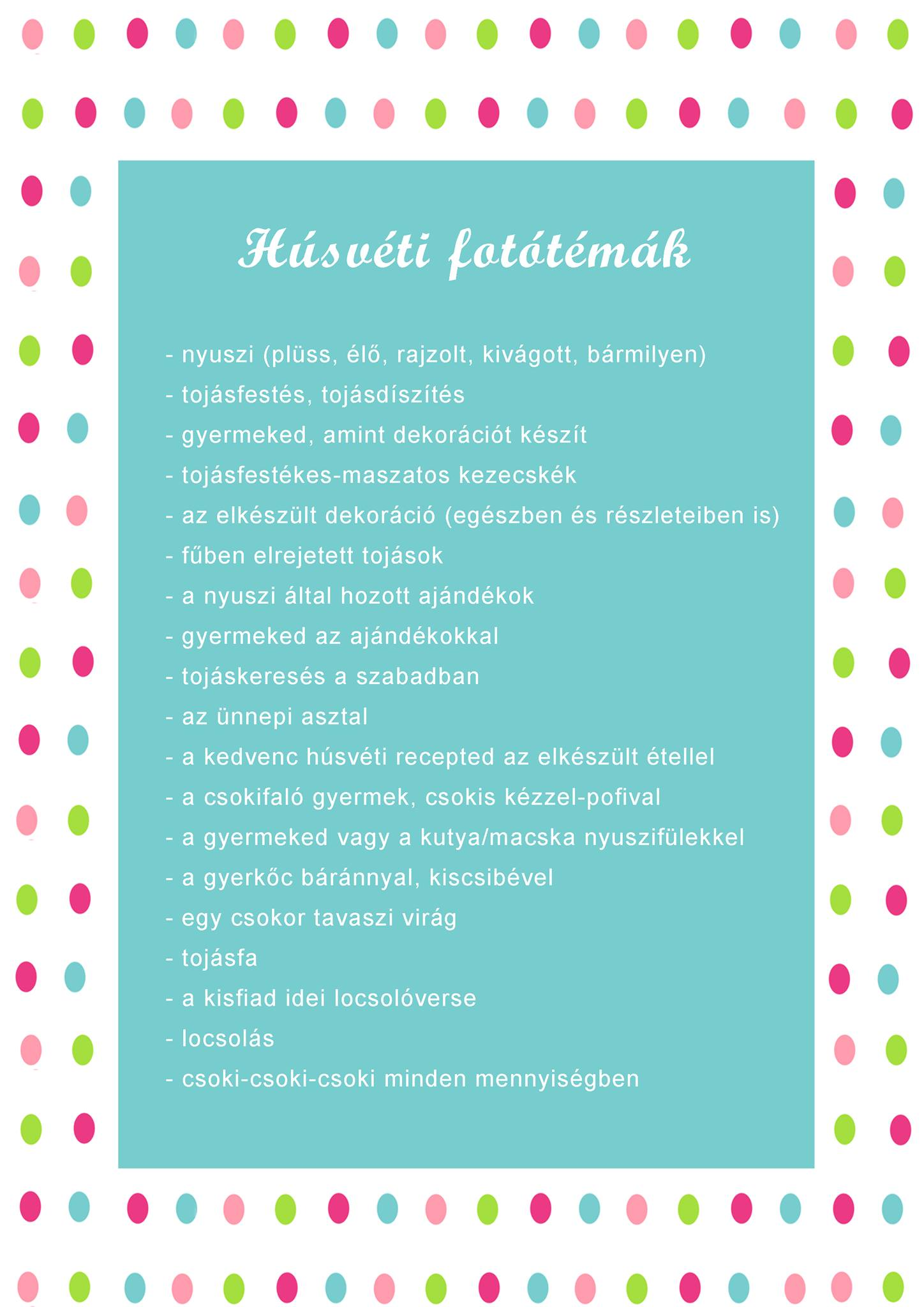 Húsvéti fotós tippek Szöllősi-Kiss Orsitól
