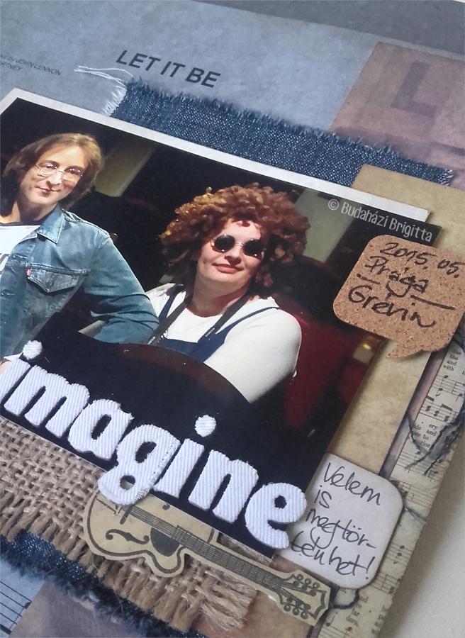 Kedvenc - Budaházi Brigitta | Scrapbook.hu Januári vázlatkihívás inspiráció