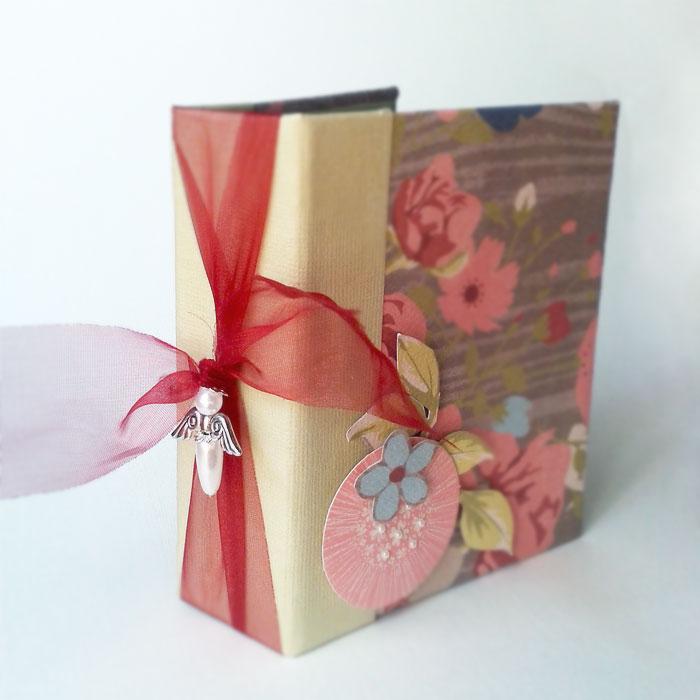 Budaházi Brigitta: Album Andinak | scrapbook minialbum