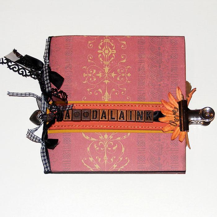 Budaházi Brigitta: A mi dalaink | CD tartó scrapbooktechnikával