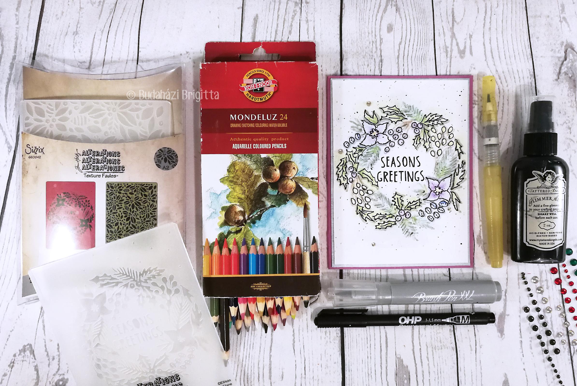 Pasztell árnyalatok - Domborított képeslapok színezése különféle technikákkal | Budaházi Brigitta - Scrapbook.hu