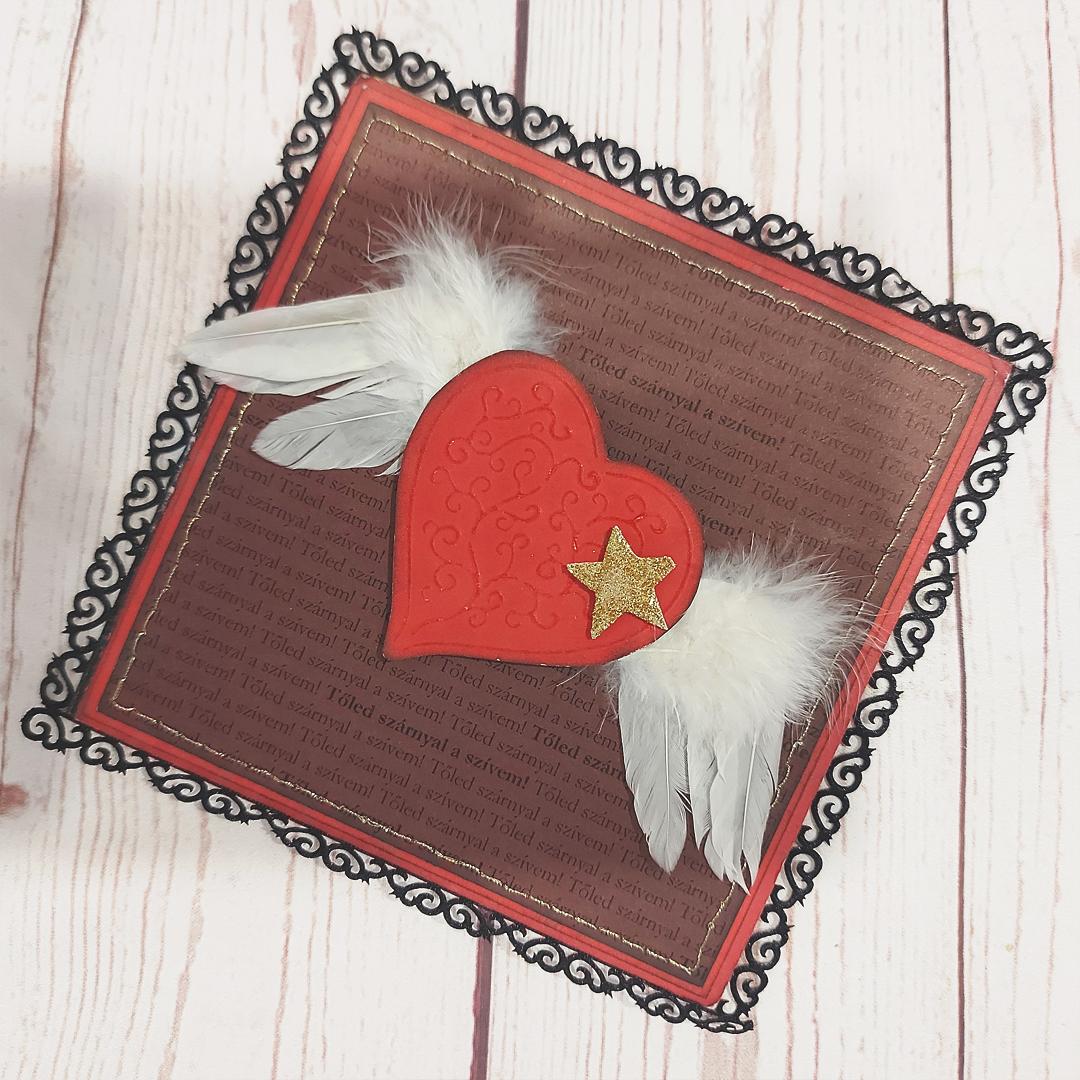 Scrapbook karácsony után | Budaházi Brigitta: Karácsonyfa díszítés 05 scrapbook oldal