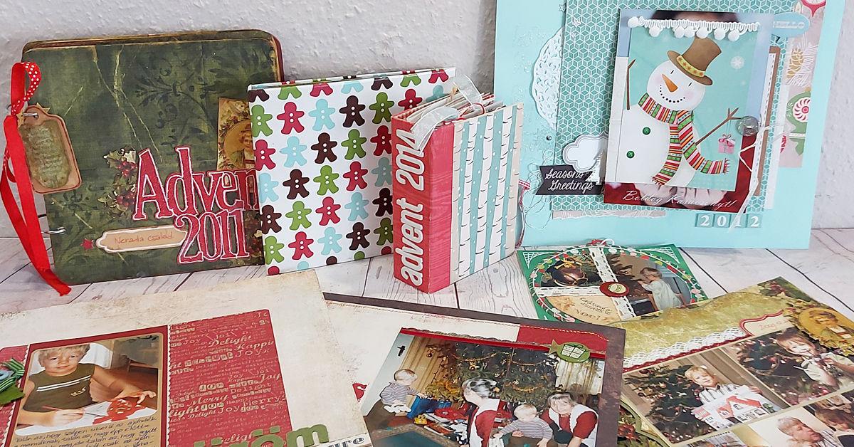 Scrapbook karácsony után | Budaházi Brigitta