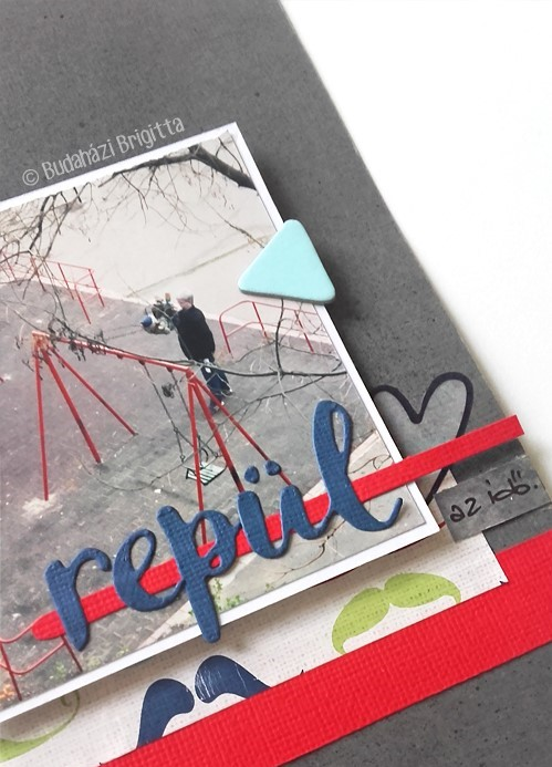 Budaházi Brigitta: Édes albumunk| scrapbook minialbum
