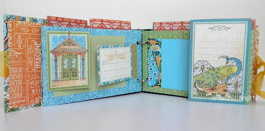Budaházi Brigitta: 40 embékem   scrapbookalbum