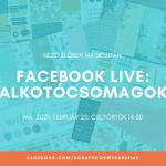 Scrapbook Webáruház Facebook Élő bejelentkezés - Alkotócsomagok